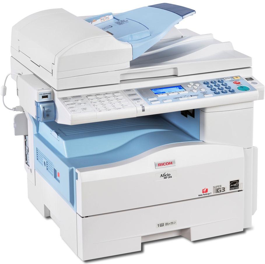 Ricoh Aficio MP 201SPF Printer PCL Windows 8